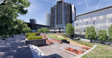 An artist's impression of the City Lodge Courtyard Hotel in Waterfall City.