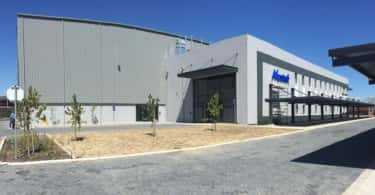 New corporate office premises of Mustek at Atterbury's landmark Richmond Park development.