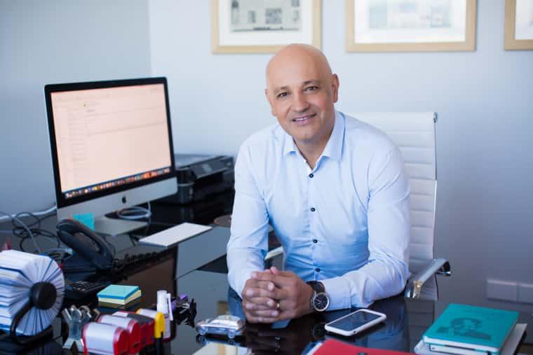 Equites CEO, Andrea Taverna-Turisan,.