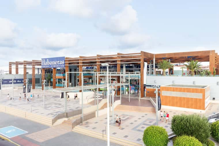 Habaneras Shopping Centre, Torrevieja, Spain.