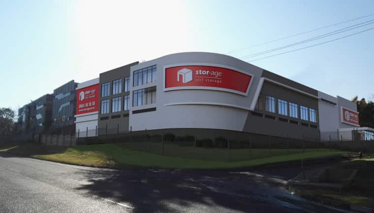Stor-Age's 50th store, in Bryanston.