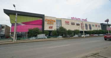 Atrium Mall shopping centre in Arad, Romania.