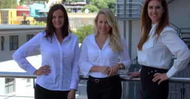 Renee Kruger, Nina Steininger and Janet Lightbody of Ikon Property Group