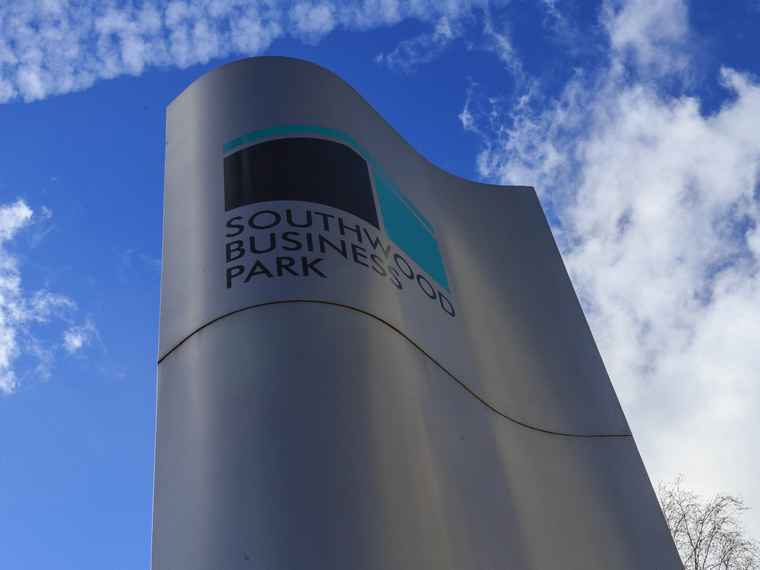 Southwood Business Park, Hampshire.