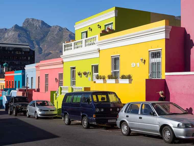 Bo-Kaap. Cape Town.