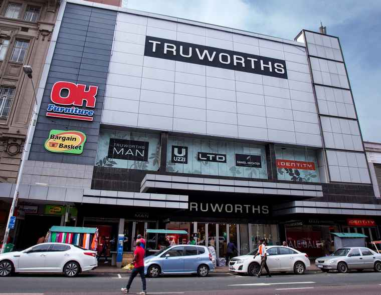 Truworths store at 381 -389 West street, Durban.