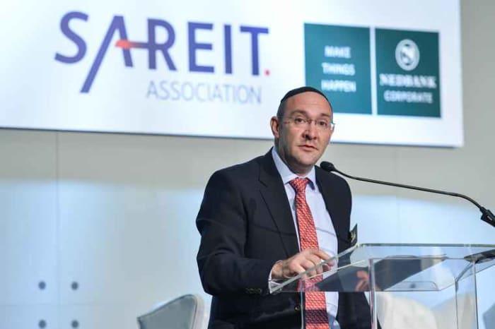 Laurence Rapp, Chairman of the SA REIT Association.