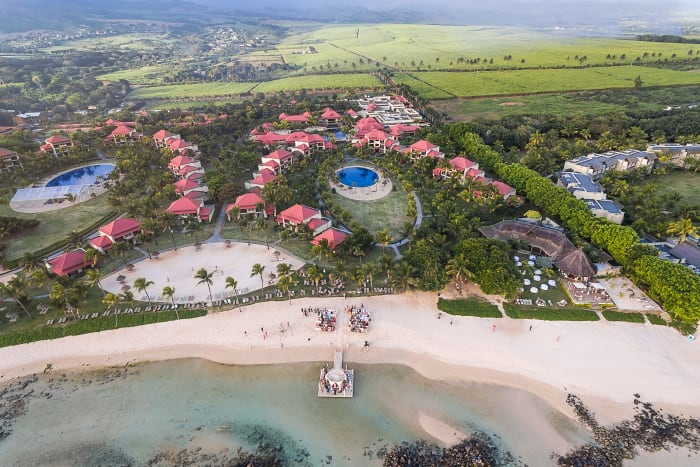 Tamassa Resort, located in Bel Ombre on the south western coast of Mauritius.