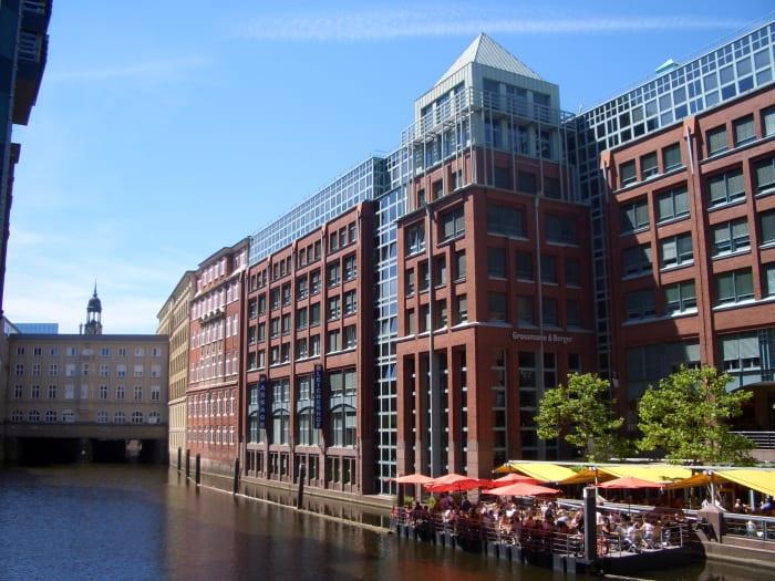 Bleichenhof in Central Hamburg.