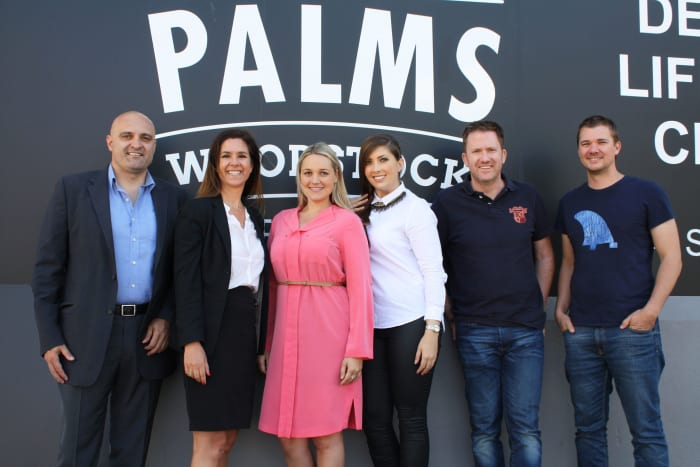 The long-term Seattle Coffee Company lease at The Palms was negotiated by Ikon Property Group (Jerri Mperdempes and Janet Lightbody IKON Property Group, Rilee Palmer and Bianca Arnsmeyer Berman Brothers, Barry Parker and Brad Rossiter Seattle Coffee Company).