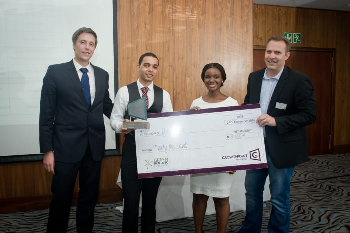 Growthpoint Greenovate Awards 2016