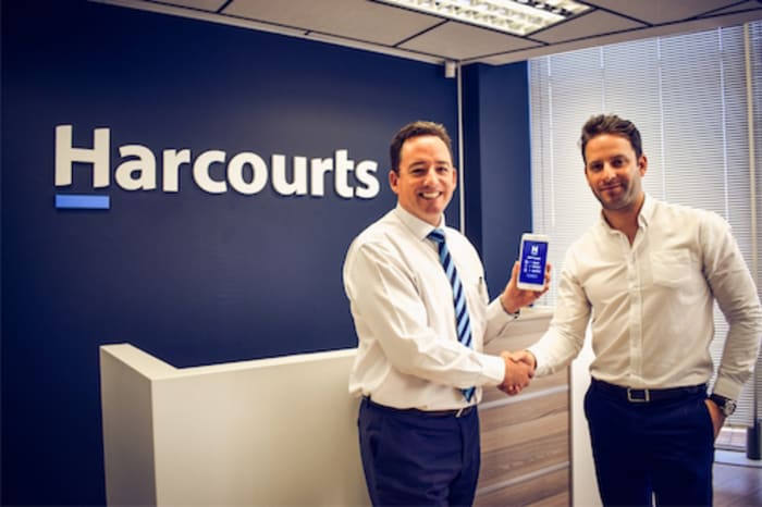 From left to right: Steve Caradoc-Davies, Principal/Director of Harcourts Platinum and Greg Jooste, founder and MD of PHNX Digital.
