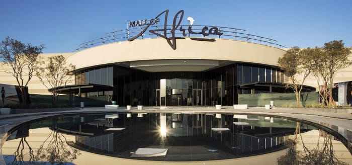 Mall of Africa, Atterbury's award winning development.