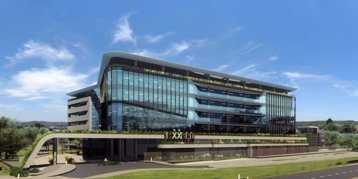 Exxaro building, Growthpoint