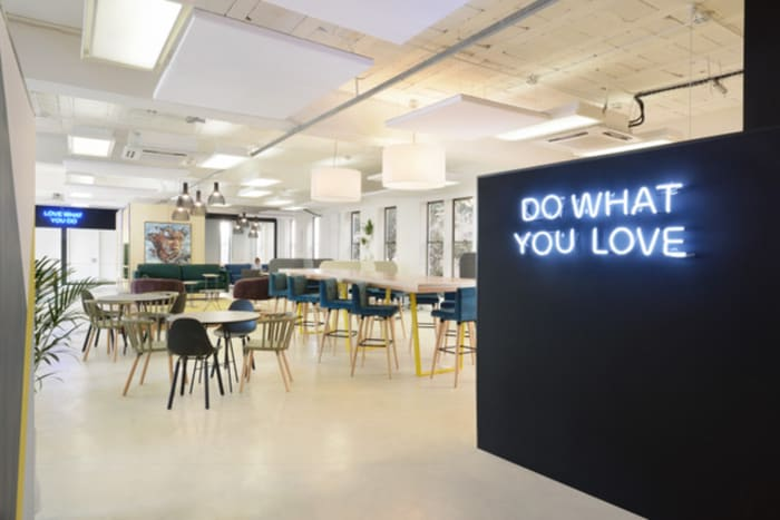 An inside look at the Perch Co-Working Space in Rosebank.