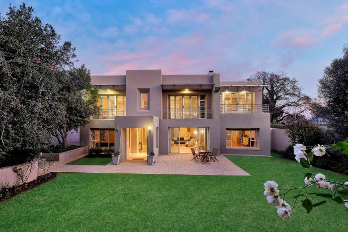 A property for sale in Parktown North.