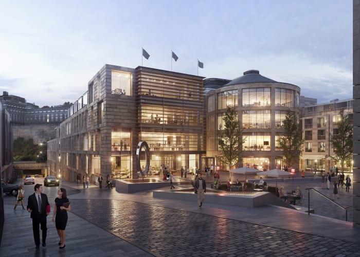 MAS Real Estate's New Waverley office development.