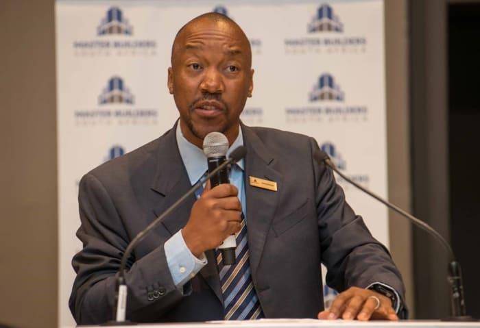Bonke Simelane, President of Master Builders South Africa.