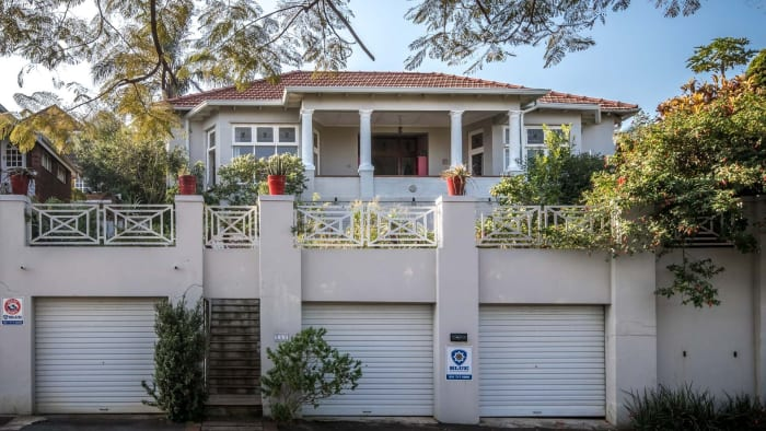 This spacious three bedroom home plus granny flat in Morningside, Durban is on the market for R3.25 million through Pam Golding Properties.