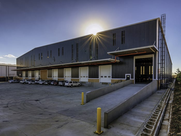 The new K101 Spec Warehouse situated on Waterfall's Distribution Campus.