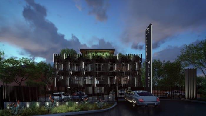 An artist's impression of 78 Corlett Drive. Image by Daffonchio & Associates Architects.