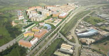 Aerial Bridge City
