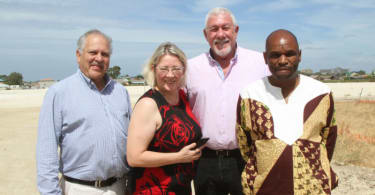 Morkel's Cottage housing project sod turning