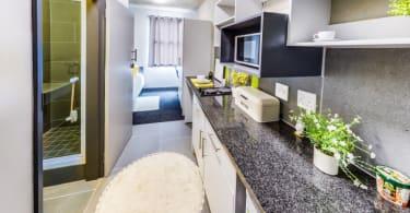 Hatfield Square redevelopment - Studio Kitchen