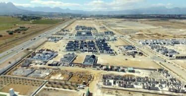 Sitari Country Estate Aerial View