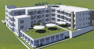 A 3D impression of Plett Platinum.