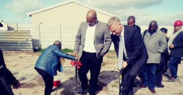 Pelican Park Clinic Sod Turning