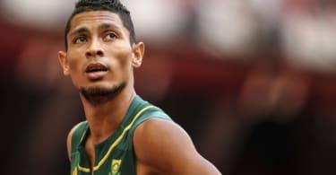 Olympic Gold Medalist Wayde Van Niekerk (Getty Images).