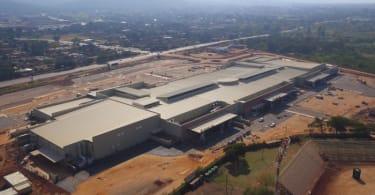 Thavhani Mall, Aerial View