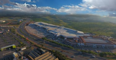An aerial view of Ballito Junction Regional Mall in Durban.