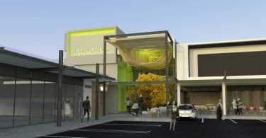 An artist's impression of the the Century Village Shopping Centre.
