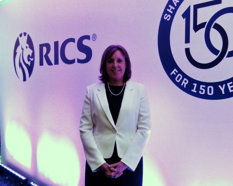 Kath Fontana, RICS Senior Vice President.