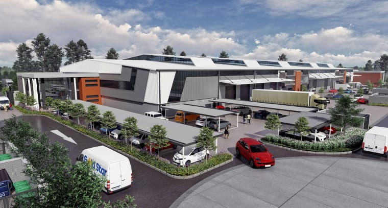 Randport Industrial Park development.