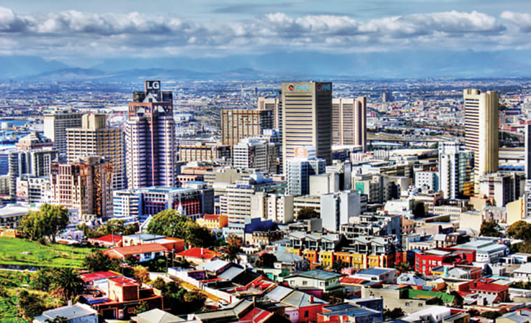 A view of Cape Town CBD.