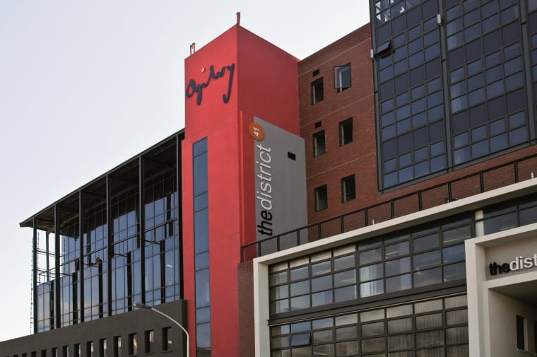 Growthpoint's major tenant Ogilvy Cape Town in The District.