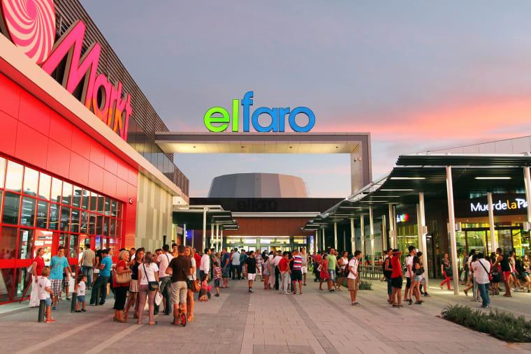 El Faro shopping centre in the Extremadura province's capital city of Badajoz.