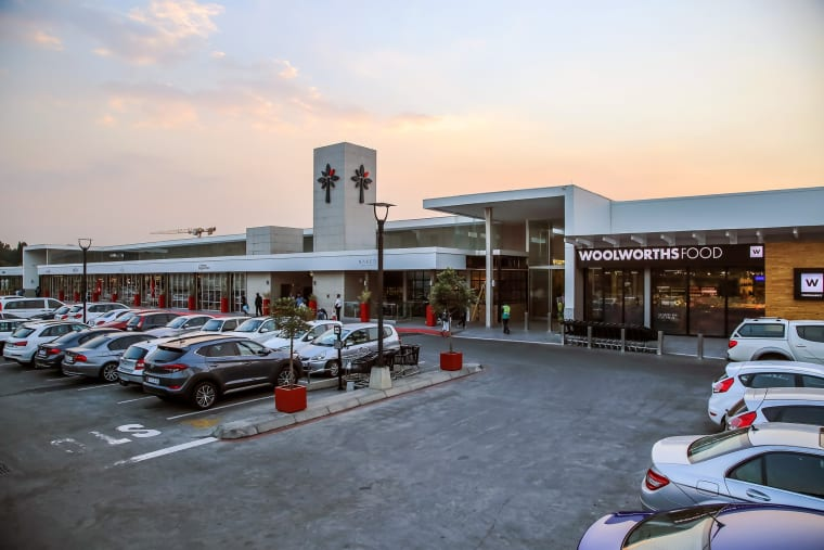 An exterior view of Morningside Shopping Centre.