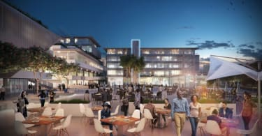 An artist's impression of Nedbank's R1-billion development, Park Square.