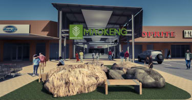 An artist's impression of Maokeng Mall to be launched in 2019.