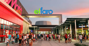 El Faro shopping centre in the Extremadura province's capital city of Badajoz.