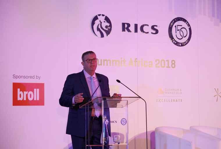 RICS Chief Executive Sean Tompkins.