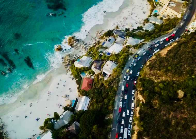 Camps Bay, Cape Town.