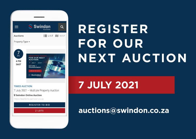 Swindon Online Auction 7th July 2021