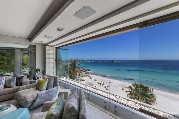 A Clifton apartment sold for R55 million by Pam Golding Properties.