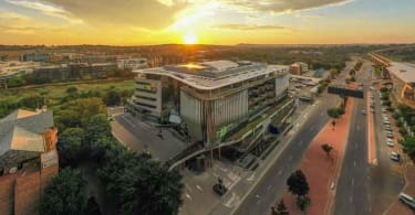 Exxaro's iconic new headquarters in Centurion owned and developed by Growthpoint.