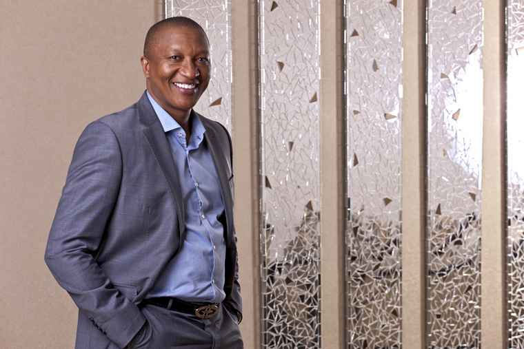 Founder and Executive Deputy Chairman of Rebosis,, Sisa Ngebulana.